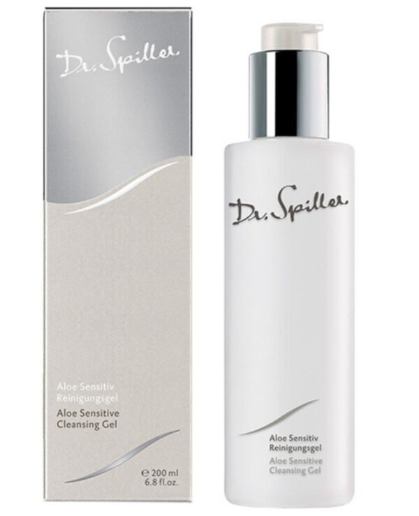 Dr. Spiller - Cleansing gel for sensitive skin with aloe extract Cleansing Line Aloe Sensitive Cleansing Gel 500ml