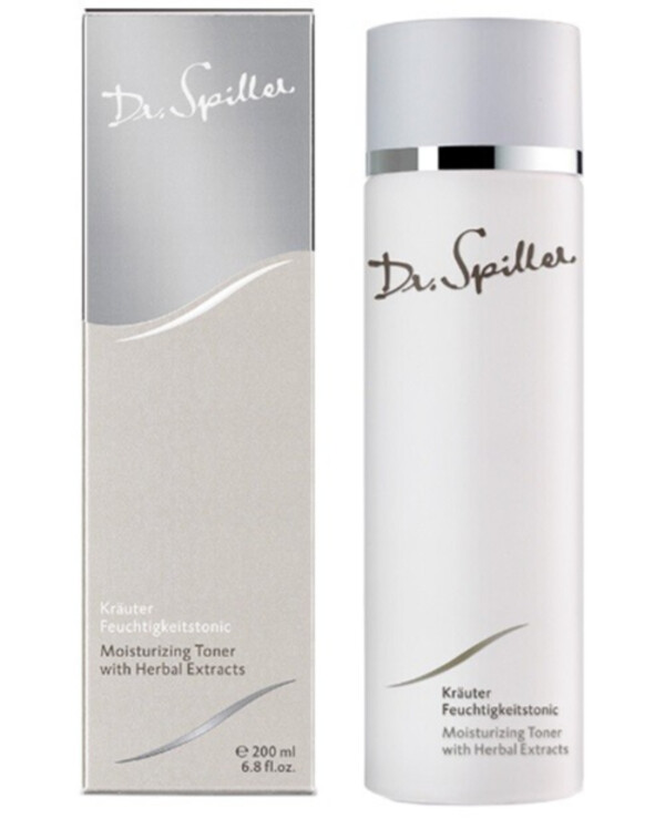 Dr. Spiller - Moisturizing toner with herbal extracts Cleansing Line Moisturizing Toner with Herbal Extracts 200ml