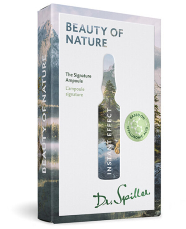 Dr. Spiller - Ampoule concentrate with instant anti-aging action Instant Effect-Beauty of Nature 2ml