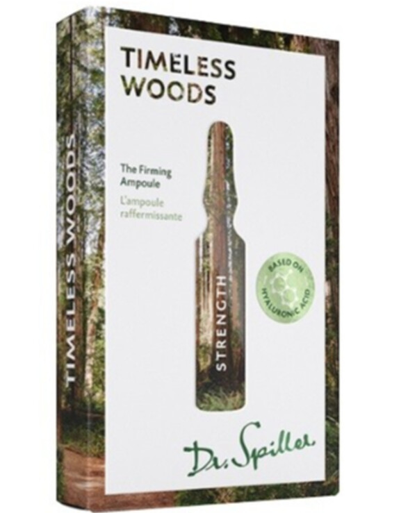 Dr. Spiller - Ampoule concentrate with firming action Strength — Timeless Woods 2ml