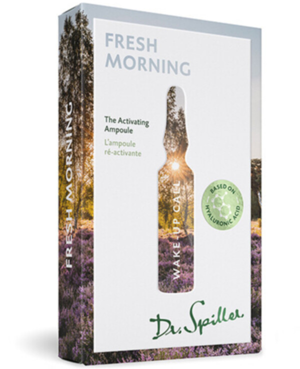 Dr. Spiller - Stimulating ampoule concentrate Wake-up Call — Fresh Morning 2ml