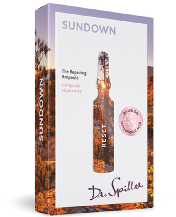 Dr. Spiller - Revitalizing ampoule concentrate Reset — Sundown 2ml