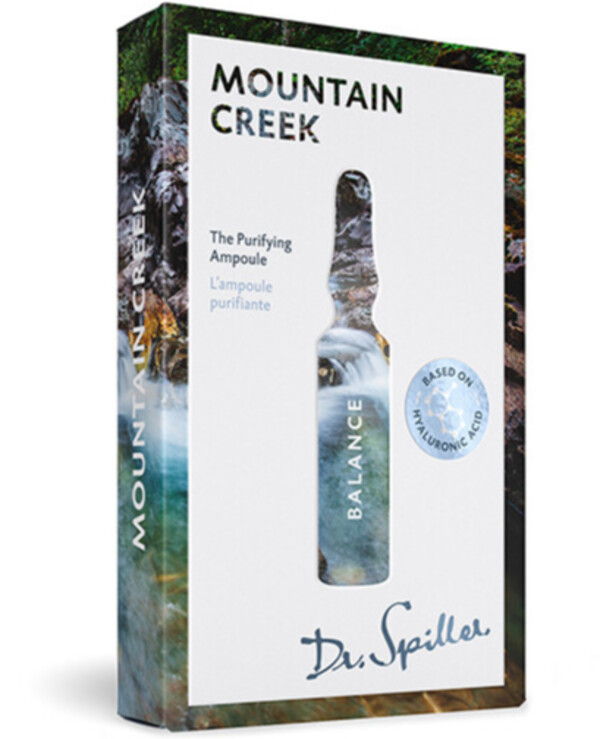 Dr. Spiller - Ampoule concentrate for cleaning action Balance — Mountain Creek 7x2ml