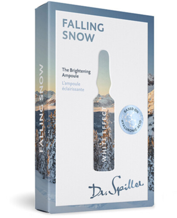 Dr. Spiller - Ampoule concentrate for even skin tone White Effect — Falling Snow 2ml