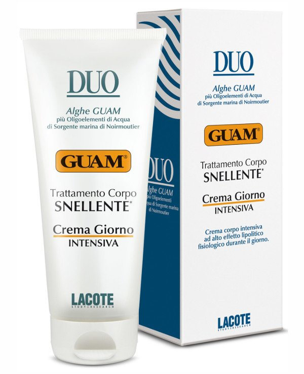 "Guam - Day cream for the body ""slim silhouette"" Trattamento Corpo Crema Snellente Rassodante 200ml"