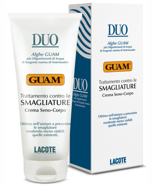 Guam - Cream for stretch marks for the body and chest Smagliature Crema Seno-Corpo 200ml
