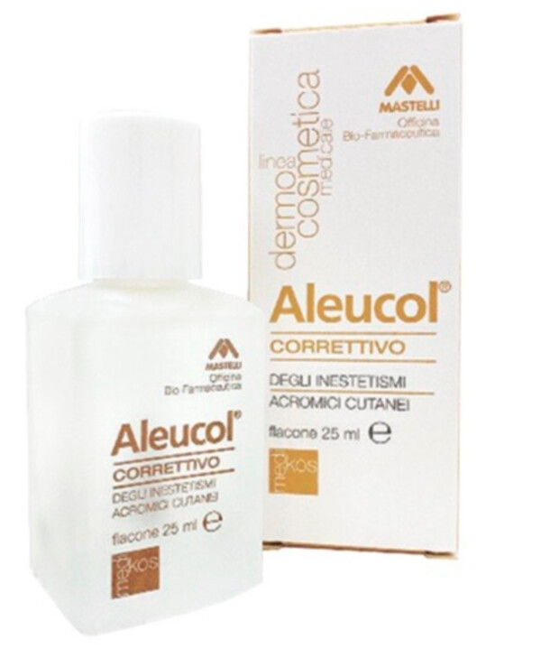 Mastelli - Lotion for correcting depigmented areas Aleucol 25ml