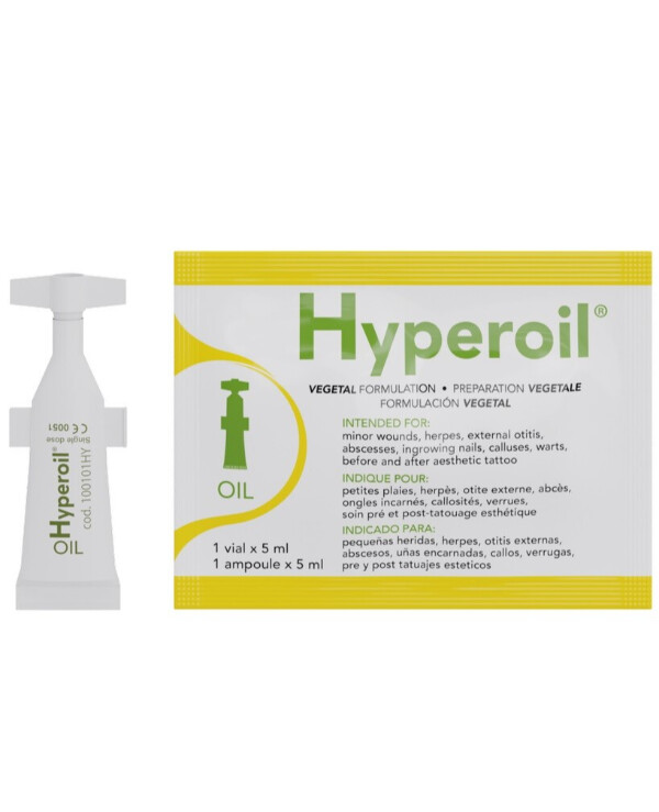 Hyperoil - Multifunctional herbal care Fast Healing Advanced Wound Dressing 5ml