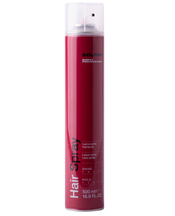 Solfine - Polish for hair Styling Hair Spray 500ml
