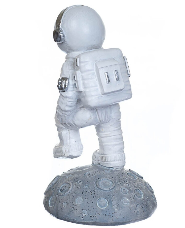 Statuettes - Figurine On the moon 11 cm  White back
