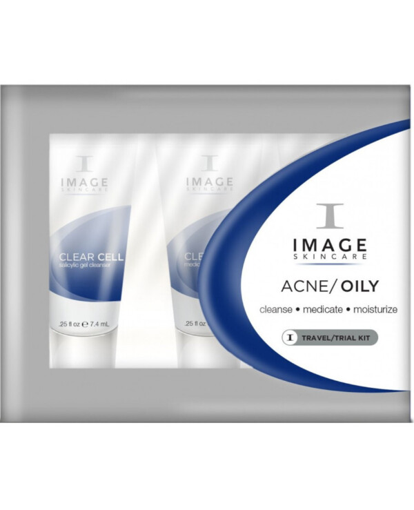 Image Skincare - Пробный мини набор Clear Cell Oily/Acne Trial Kit