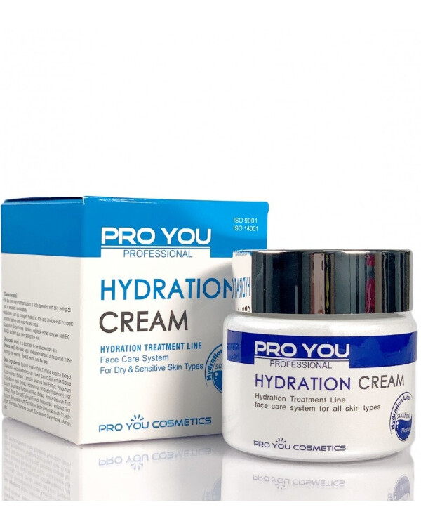 Pro You Professional Intensive moisturizing face cream with hyaluronic acid | Intensive moisturizing face cream with hyaluronic acid