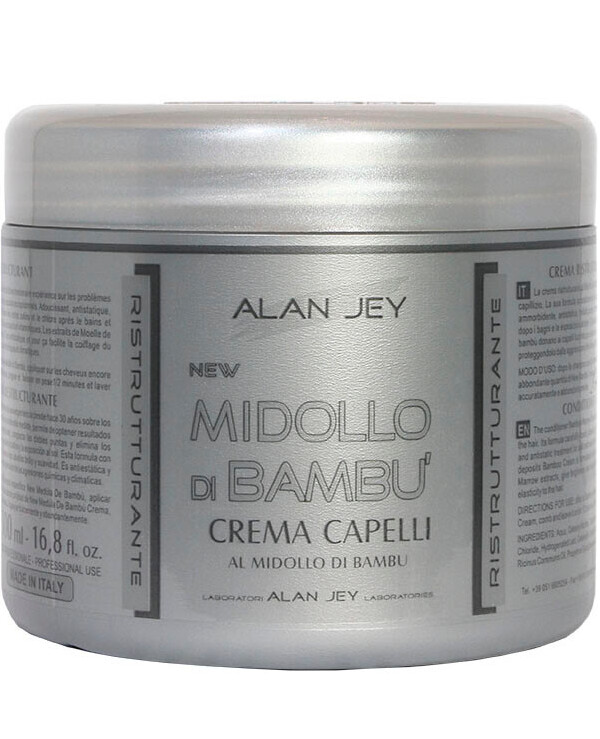 Alan Jey - Regenerating cream balm with bamboo Crema Capelli Al Midollo Di Bambu 500ml