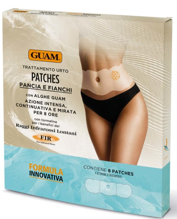 Guam - Patches (patches) for the abdomen and waist with a warming effect Patches Pancia e Fianchi
