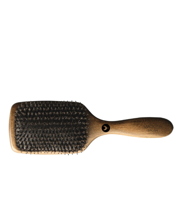 HH Simonsen - Combined bristle brush Smooth brush Beige