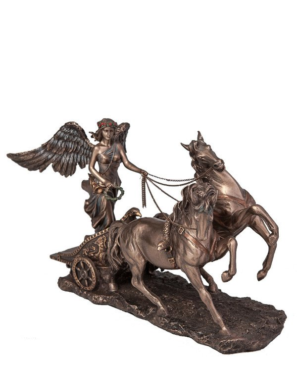 "Veronese Figurine ""Nick in a chariot"" (38 cm) 
