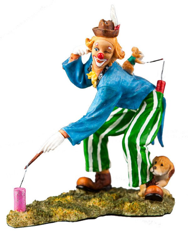 Veronese - Clown Figurine (13 cm)