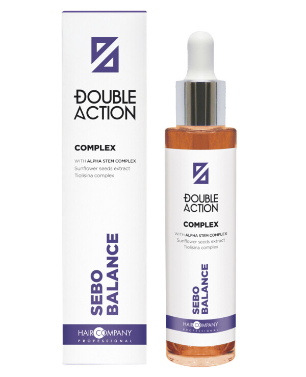 Hair Company professional - Complex regulating the sebaceous glands Double Action Sebocontrol Complex 50ml