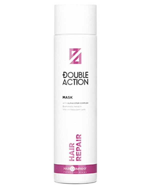 Hair Company professional - Восстанавливающая маска Double Action Hair Repair Mask Reconstruction 250мл