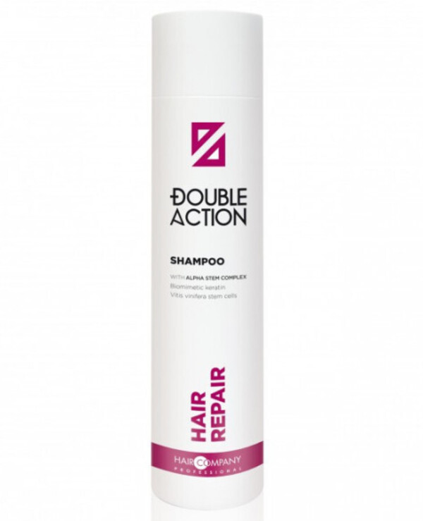 Hair Company professional - Special shampoo regenerating nourishing Double Action Deep Reconstruction Nourishing Shampoo 250ml
