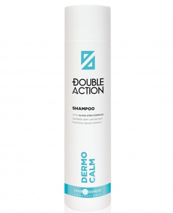 Hair Company professional - Смягчающий шампунь Double Action Dermo Calm Shampoo 250мл