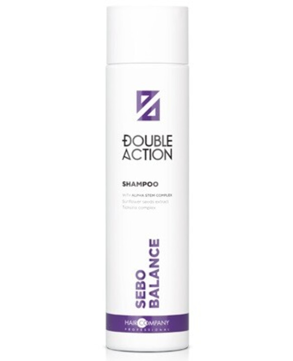 Hair Company professional - Special shampoo regulating the sebaceous glands Double Action Sebocontrol Shampoo 250ml