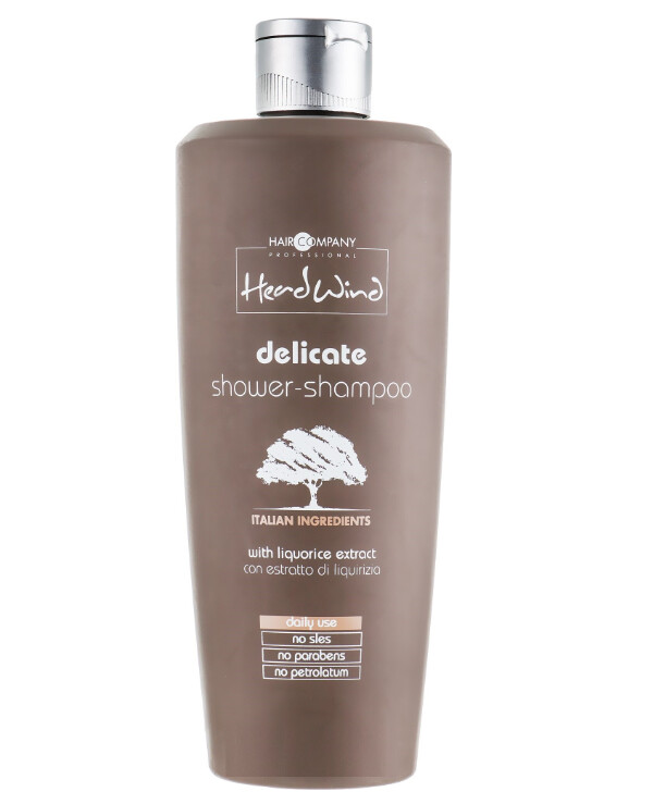 Hair Company professional - Mild shampoo shower gel Head Wind Delicate Shower-Shampoo 400ml