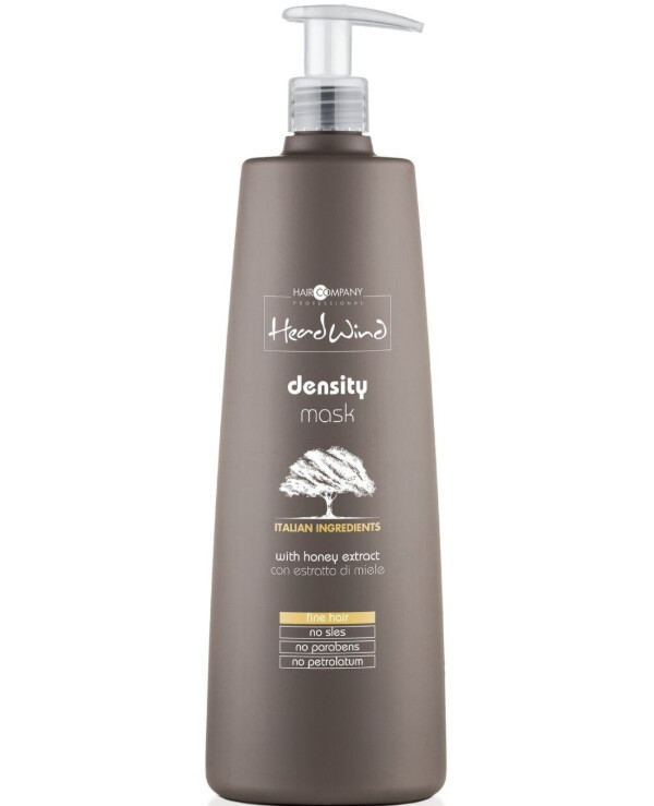 Hair Company professional - Volumizing mask with Italian honey extract Head Wind Density Mask 1000ml