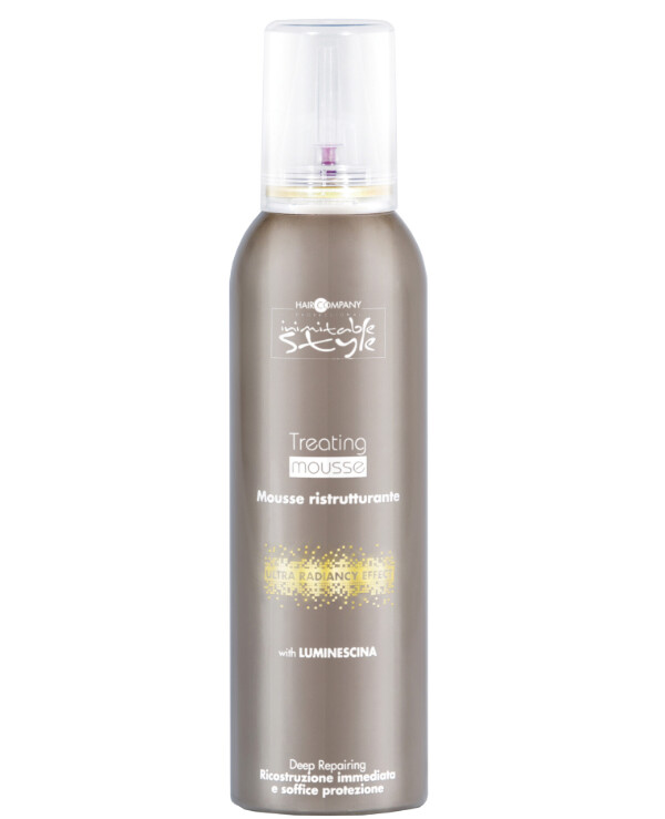 Hair Company professional - Revitalizing mousse Inimitable Style Treating Mousse 200ml