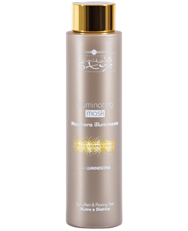 Hair Company professional - Hair mask for shine Inimitable Style Illuminating Mask 200ml