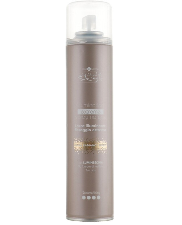 Hair Company professional - Strong hold hairspray Inimitable Style Illuminating Extreme Fixing Spray 500ml