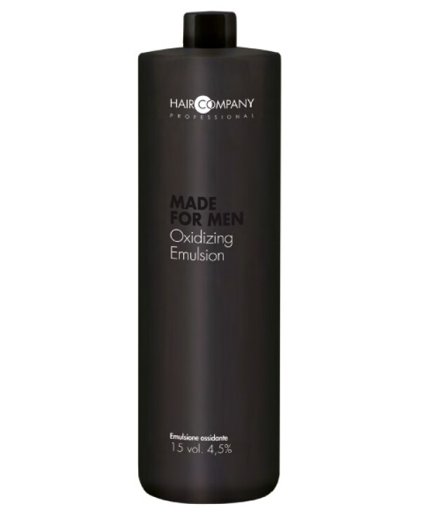Hair Company professional - Oxidizing agent for men's paint 4.5% Made For Men Oxidizing Emulsion 15vol 1000ml