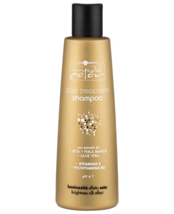 Hair Company professional - Shampoo with silk and aloe vera extract Inimitable Color Post Treatment Shampoo 250ml