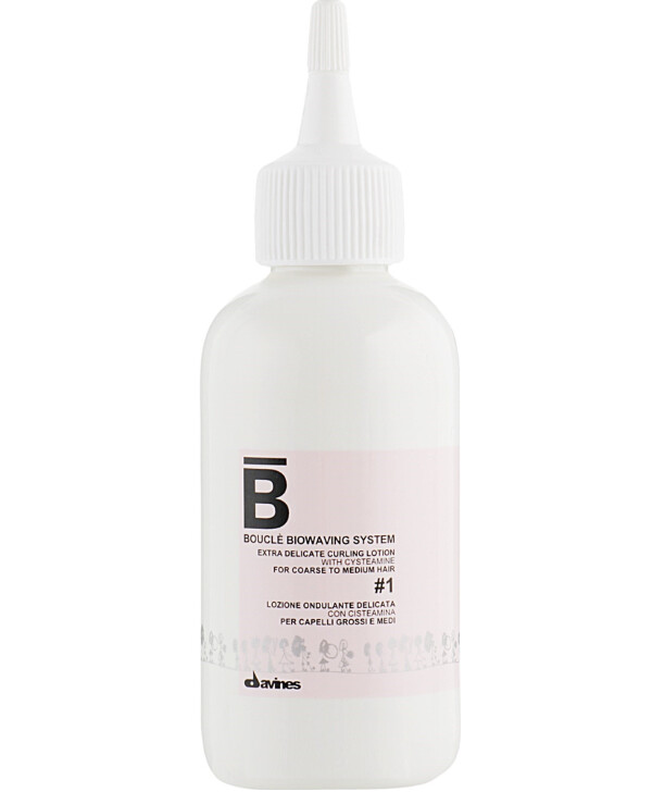 Davines - Bio-curling system for hair # 1 Boucle biowaving system Extra delicate curling lotion #1 100ml, №1
