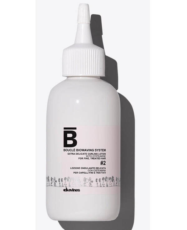 Davines - Bio-curling system for natural hair Boucle Biowaving System Extra Delicate Curling Lotion 2 100ml