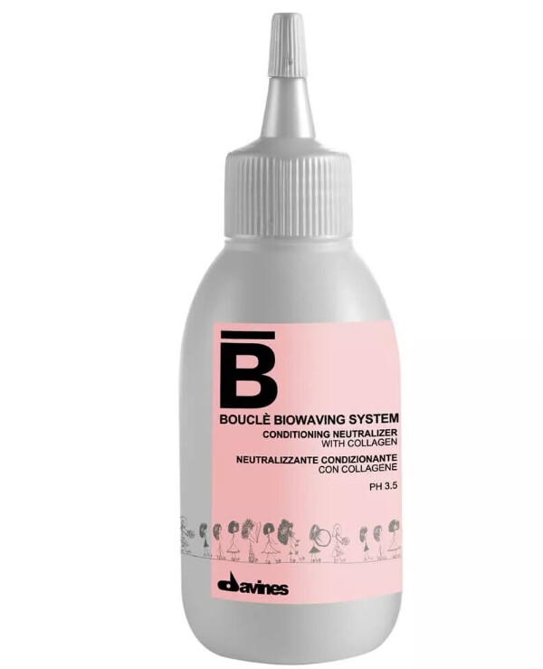Davines - Conditioning ultra-delicate neutralizer Boucle Biowaving System Conditioning Neutraliser 100ml