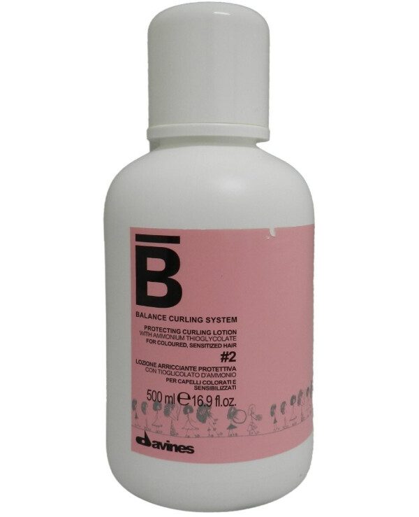 Davines - Perming Lotion Balance Curling System Protective curling lotion #2 500ml