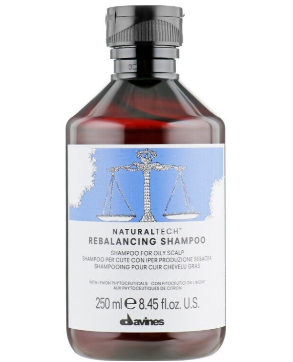 Davines - Balancing hair shampoo Natural Tech Rebalancing Shampoo 100ml