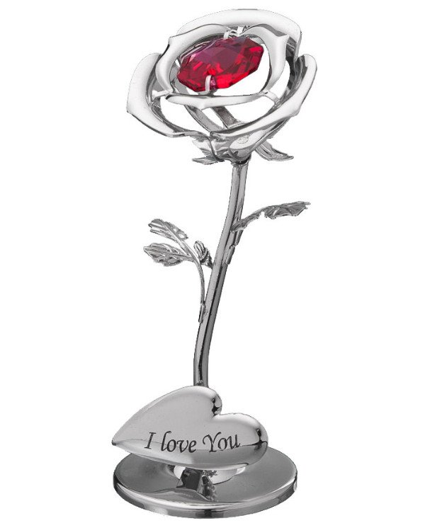Crystocraft - Figurine - Love and Rose