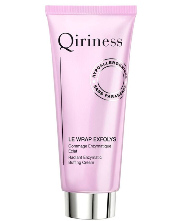 Qiriness - Крем очищающий Le Wrap Exfolys Radiant Enzymatic Buffing Cream 75мл
