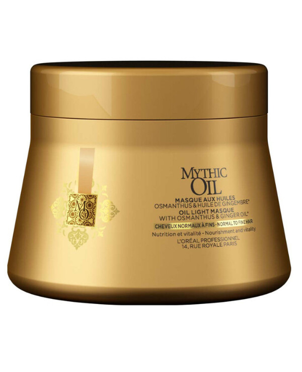 L'oreal Professionnel - Nourishing mask for normal to fine hair Mythic Oil Light Oil Masque 200ml