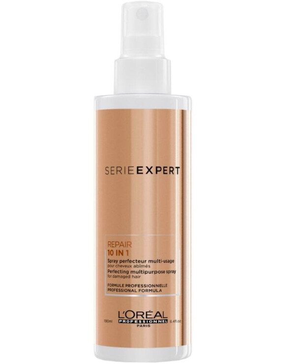 L'oreal Professionnel - Hair spray Absolut Repair 10 in 1 Perfecting Multipurpose Spray 190ml