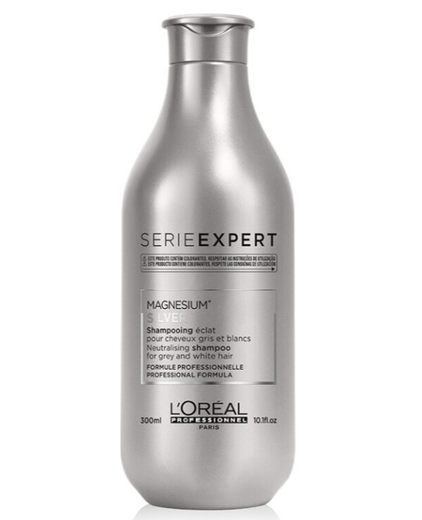 L'oreal Professionnel - Shampoo for gray and bleached hair Silver Shampoo 300ml