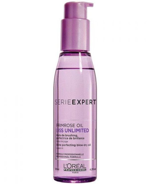 L'oreal Professionnel - A smoothing thermal protective oil for unmanageable hair Liss Unlimited Primrose Oil 125ml