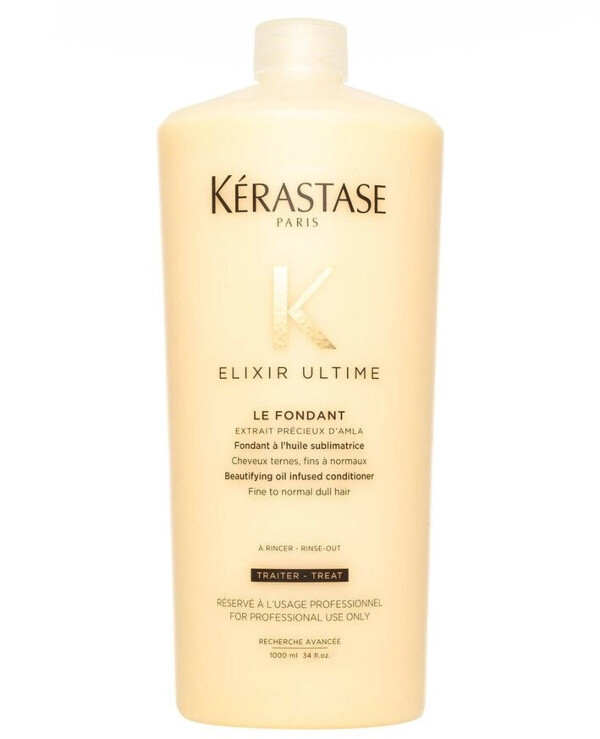 Kerastase - Milk care for all hair types with oil content Elixir Ultime Fondant Beautifying Oil Conditioner 1000ml