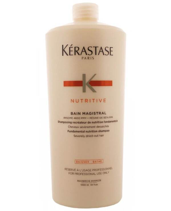 Kerastase - Shampoo for the fundamental nourishment of very dry hair Nutritive Bain Magistral Shampoo 1000ml
