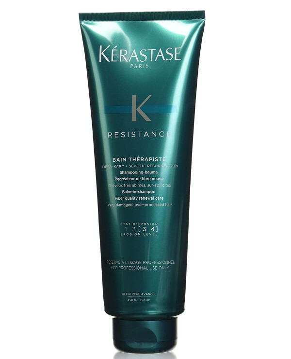Kerastase - A revitalizing shampoo for very damaged hair Resistance Bain Therapiste 450ml