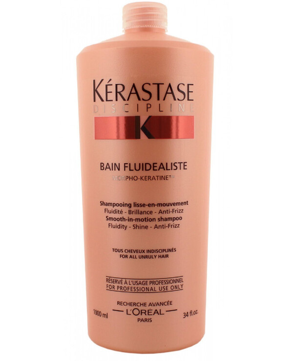 Kerastase - Shampoo to smooth unruly hair Discipline Bain Fluidealiste 1000ml