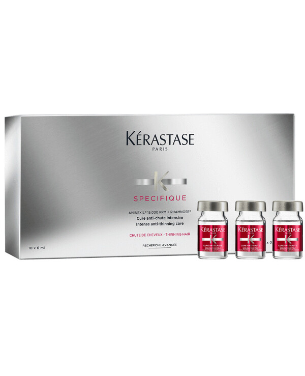 Kerastase - Intensive hair loss treatment with aminexil Specifique Cure Aminexil 6ml * 10 back