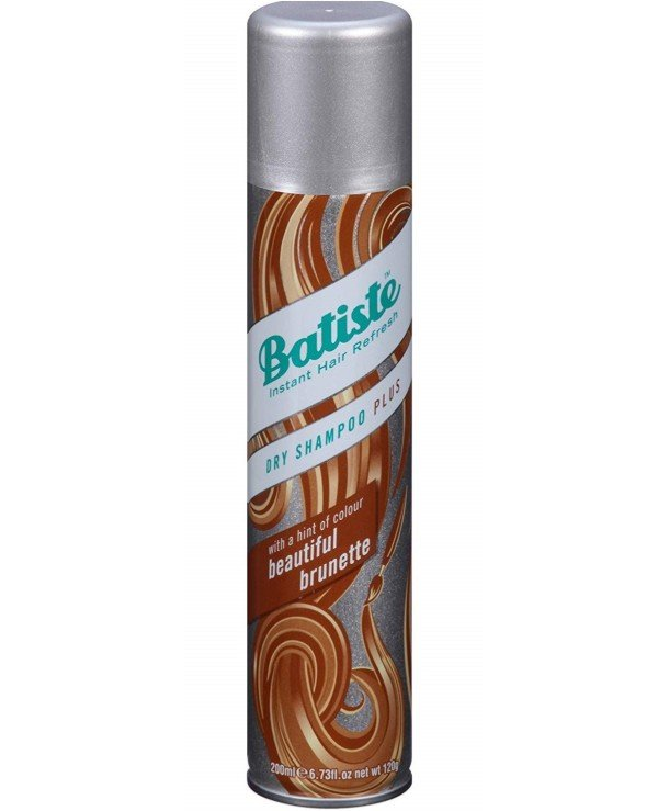 Batiste - Сухой шампунь для шатенок и темно-русых Dry Shampoo Medium and Beautiful Brunette a Hint of Colour 200мл